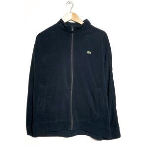 Lacoste fleece zip up jacket